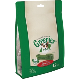 12 count 12 Oz. Greenies Dental Chews teenie