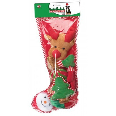 SPOT Filled XL Dog Holiday Stockings