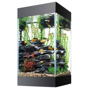 Aqueon 15 Gallon Column Deluxe Aquarium kit