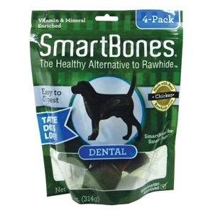 Smartbones Dental Med. 4 Pack