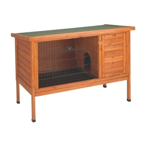 Premium Plus Rabbit Hutch Natural Medium