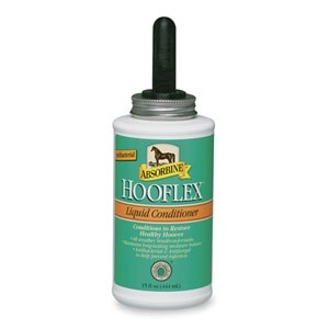 Hooflex Liquid Conditioner with Brush 15 oz.