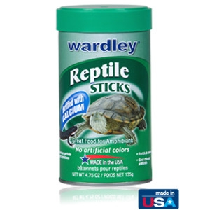 Wardley Premium Reptile Sticks 4.75oz