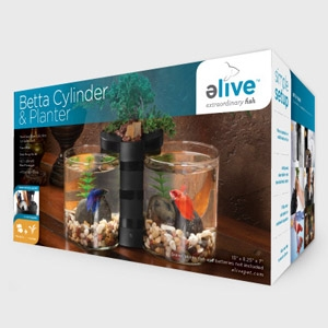 elive™ Betta Cylinder Planter
