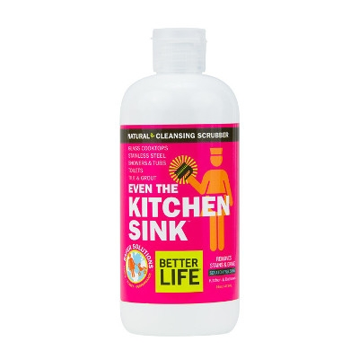 Better Life Even the Kitchen Sink Natural Kitchen & Bath Cleansing Scrubber, 16 oz.