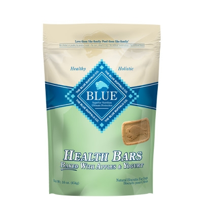 BLUE Health Bars Baked with Apples and Yogurt for Dogs, 16 oz.
