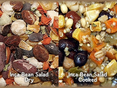 Inca Bean Salad- Worldly Cuisines for Birds, 4-oz.