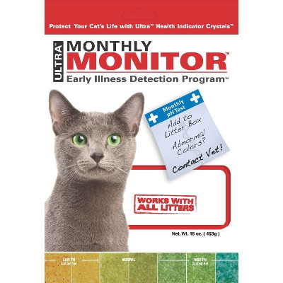 Monthly Monitor Illness Detection for Cats