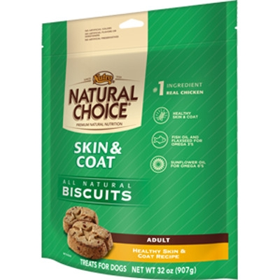 Natrual Choice Skin & Coat Biscuits, 32oz.