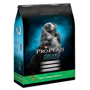 Purina Pro Plan Focus Adult Small Breed Dog Formula