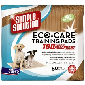 Simple Solutions Eco-Care Training Pads 50 pk