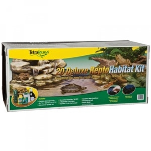 Tetrafauna Turtle Aquarium Deluxe Kit 20 gal