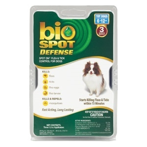 Bio Spot Defense Spot On Topical Flea & Tick Control