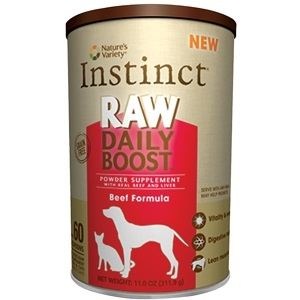 Natures Variety Instinct Raw Daily Boost Powder Beef Formula