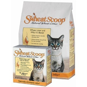Swheat Scoop Natural Wheat Cat Litter