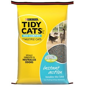 Tidy Cats® Instant Action Clay Cat Litter