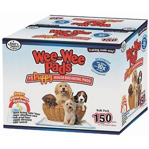 Four Paws Wee Wee Pads for Puppies (Bulk-150 ct.)