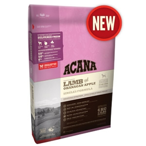 Acana® Singles LIT Lamb & Okanagan Apple Dog Food