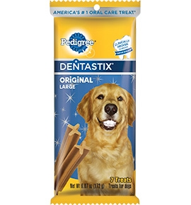 Mars  Pedigree Dentastix Large 32Ct 4/27.5Z