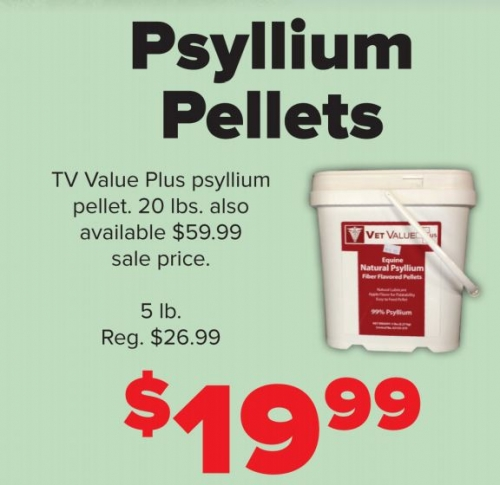 Vet Value Psyllium, 5 lbs.