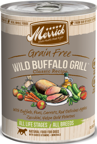 Merrick Wild Buffalo Grill Can Dog 13.2 oz.