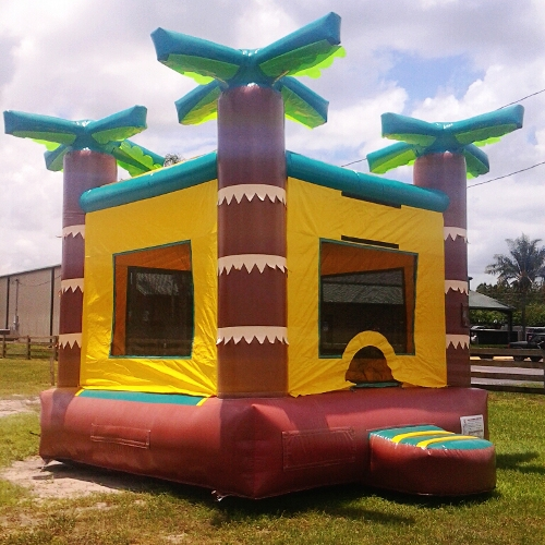 HEC Jungle Bounce House