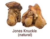 Jones Natural Chews Jones Natural Chews Knuckle Beef Shrink Wrapped 10 Count