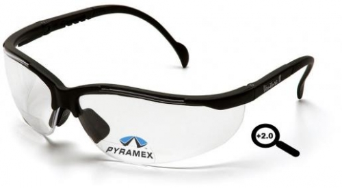 PYRAMEX V-2 READERS SB1810R20 SAFETY GLASSES