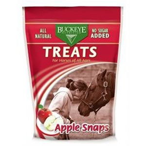 Buckeye Nutrition All Natural No Sugar Added Apple Snaps Treats