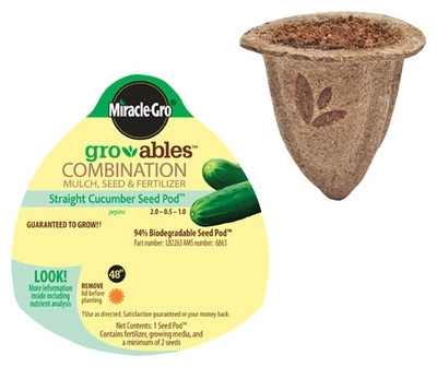 Gro-ables Cucumber Seed Pod