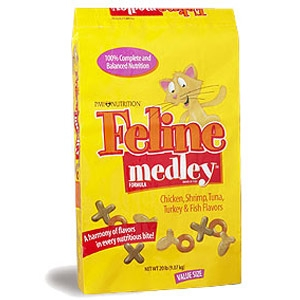 Feline Medley Formula Cat Food