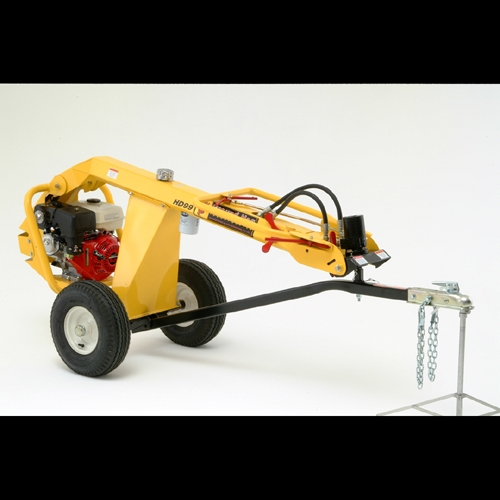 Ground hog one man posthole digger ( see saw )
