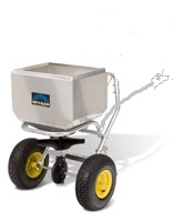 Spyker 90lb tow behind stainless spreader