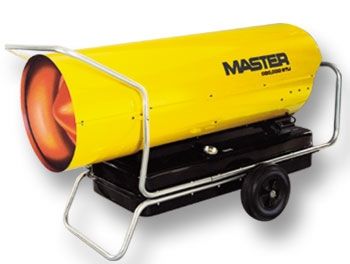 Master kerosene forced air heater 170,000 btu
