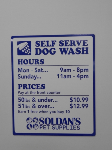 Self serve dog wash soldans feeds and pet supplies dog wash solutioingenieria Image collections