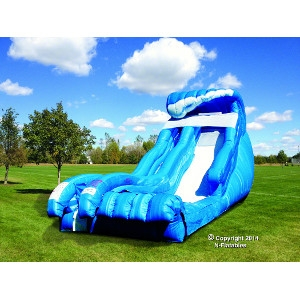 N Inflatables Cutting Edge 19' Wild Wave Jr™  Water Slide