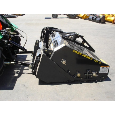 RockHound Landscape Rake- skid loader attachment