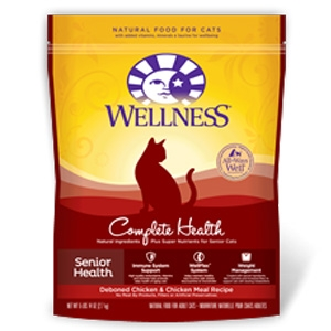 Wellness Pet Food Complete Health Senior Deboned Chicken & Chicken Meal Feline Recipe