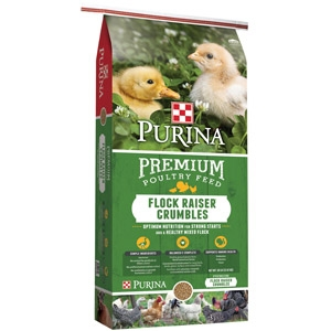 Flock Raiser® MP .0125 Premium Poultry Feed - Crumbles