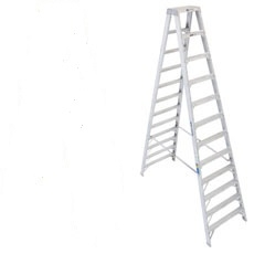 Werner  ladder 8' aluminum step