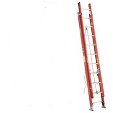 Werner 24' fiberglass extension ladder