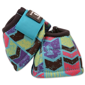 Classic Equine® No Turn DL™ Bell Boots - Love Letters