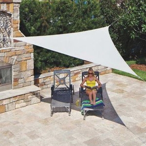 Coolaro Ready To Hang Shade Sail Canopy