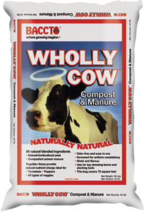 Baccto® Wholly Cow™ Organic Peat & Composted Manure