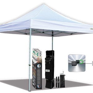 Caravan Global, 10x15 AlumaShade Bigfoot Deluxe Canopy Kit