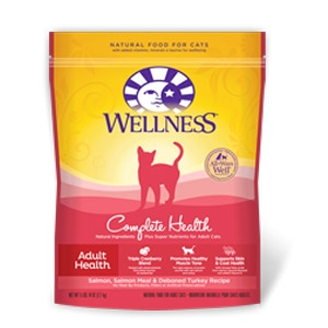 Wellness® Complete Health Adult Salmon & Turkey Cat Food