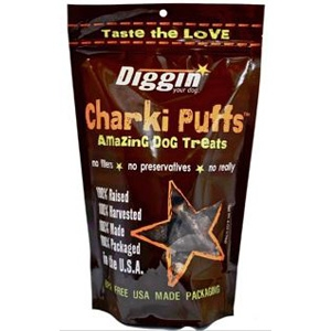 Diggin' Your Dog Charkii Puffs Dog Treats