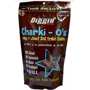 Diggin' Your Dog Charki-O's Amazing Hip & Joint Dog Chews