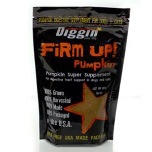 Diggin' Your Dog Firm Up! Pumpkin Super Pumpkin Supplement
