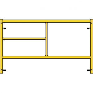 Biljax, 4.5Wx5H Scaffold Step Frame